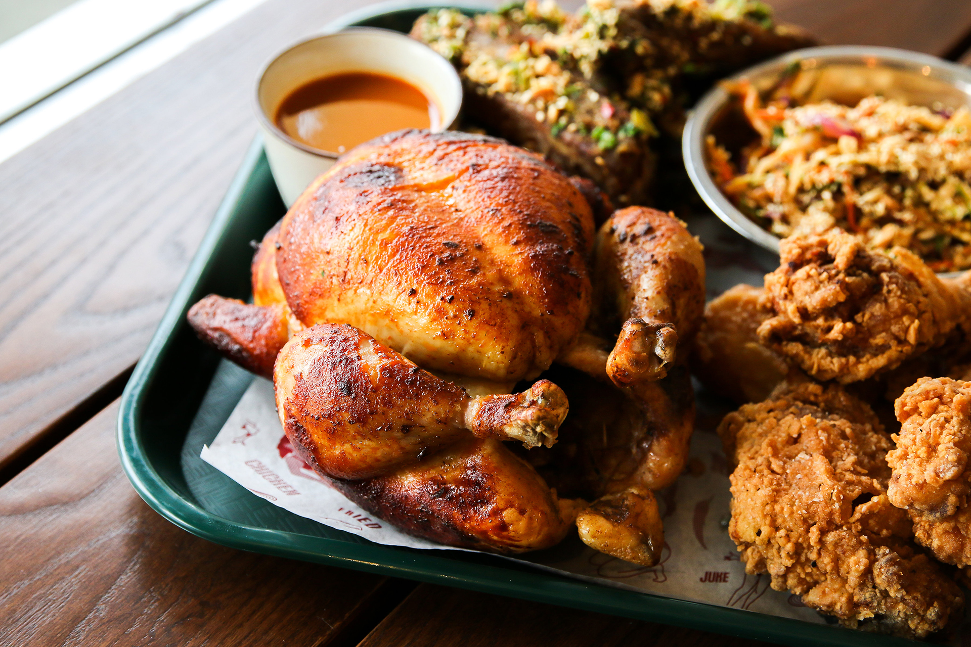 New rotisserie chicken available at Little Juke only