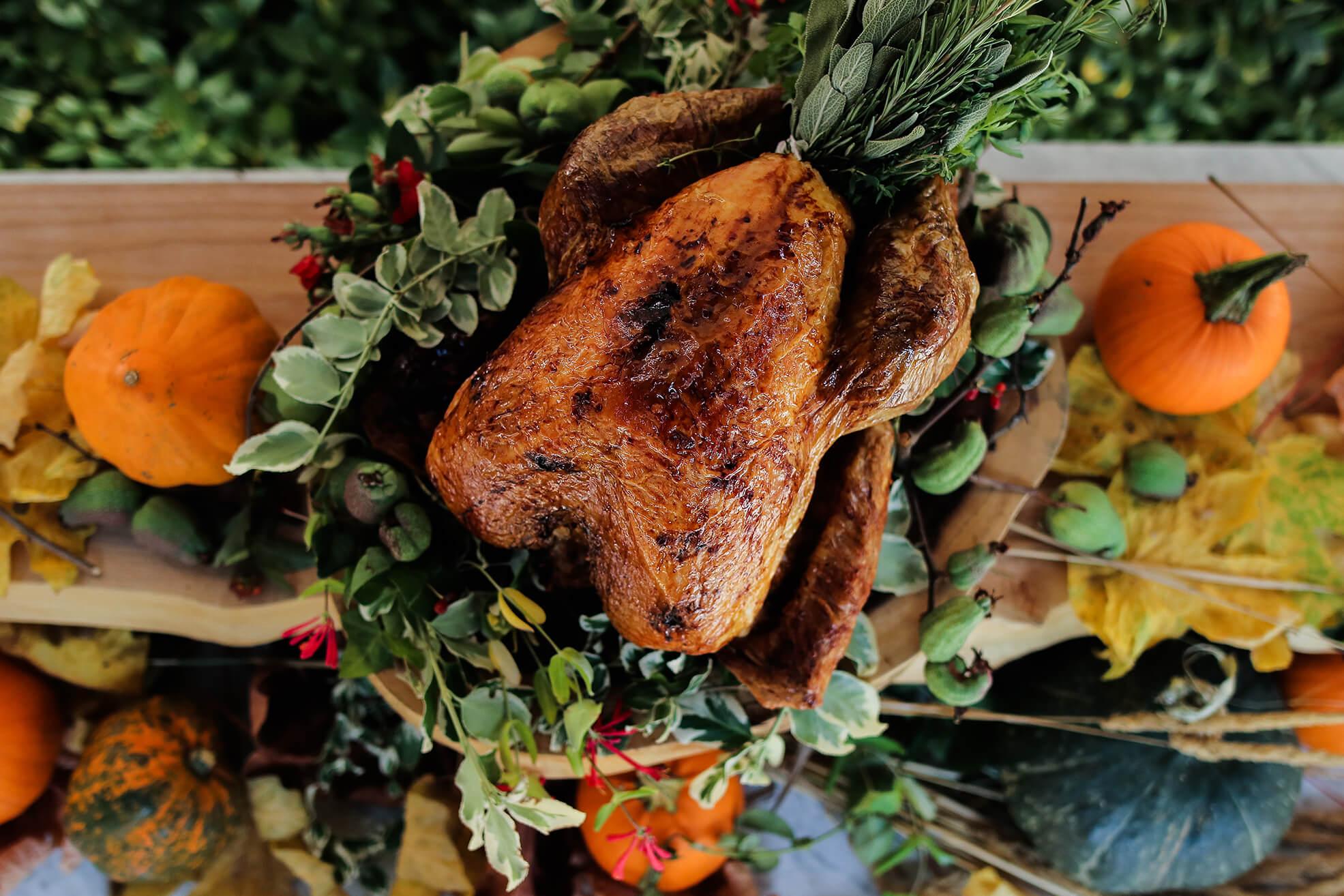 Roasted Fraser Valley turkey | Photo provided by SMC Communications