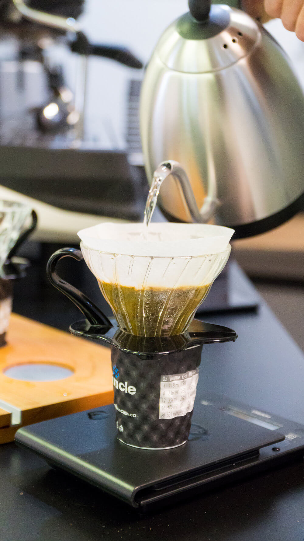 Learn how to brew coffee with the pour over method and its benefits at Roaster Central.