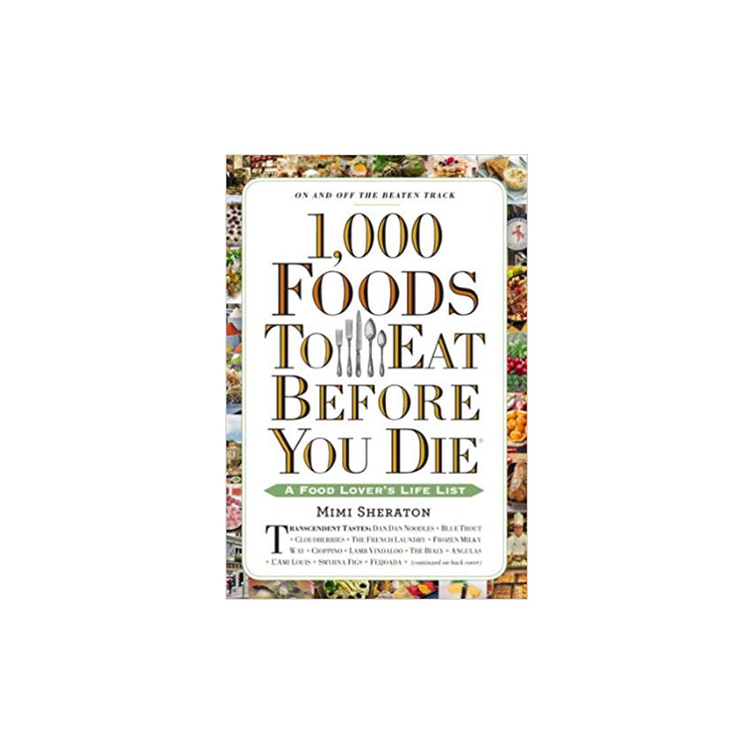 1000 things to eat before you die