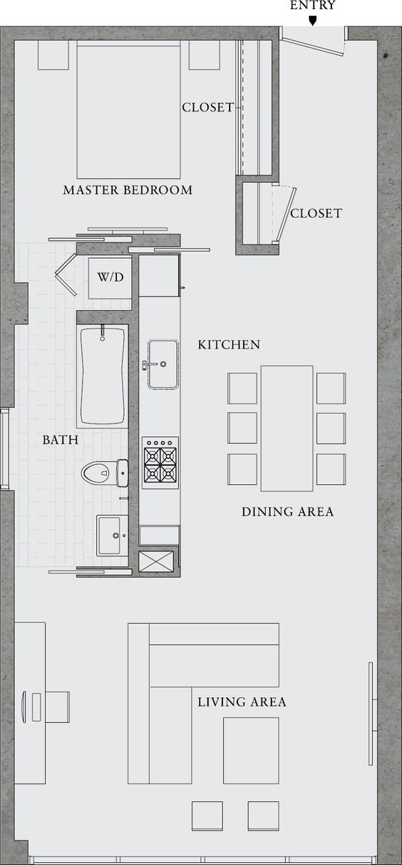This is a Sample Floor Plan. Make sure to add dimensions to all furniture pieces or on the floor plan. Make sure to type up a furniture, lighting, art and accessories list with the quantities and dimensions.