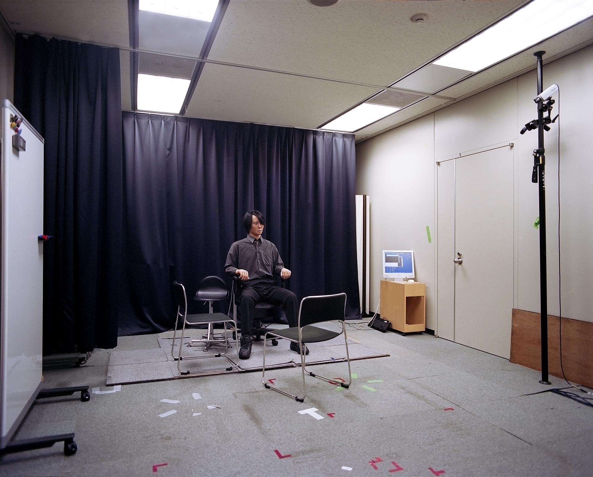 Geminoid HI-2 , 2013  Hiroshi Ishiguro Laboratories, ATR