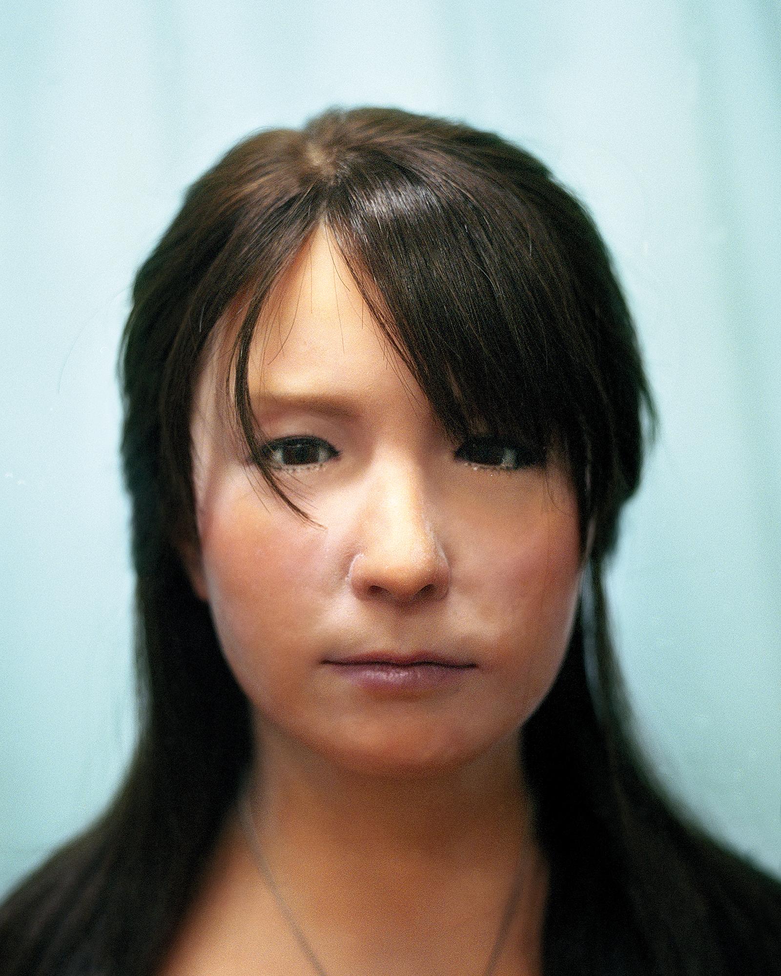 Portrait of Geminoid-F , 2013  Hiroshi Ishiguro Laboratories, ATR