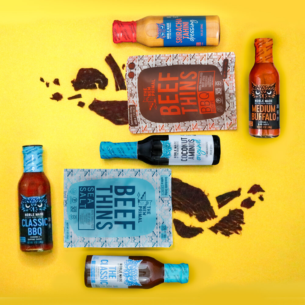The New Primal Beef Things and Whole 30 Sauces