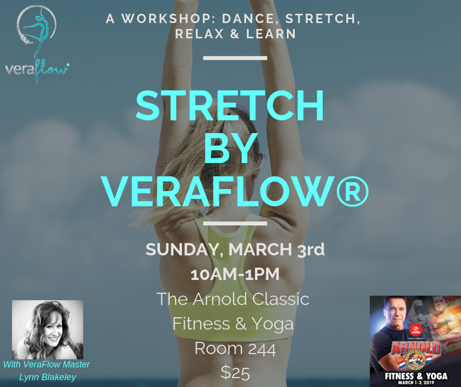 Dance, Stretch, Relax &Learn - A workshop that will leave you empowered and with a vast knowledge about the Vera Flow Philosophy
