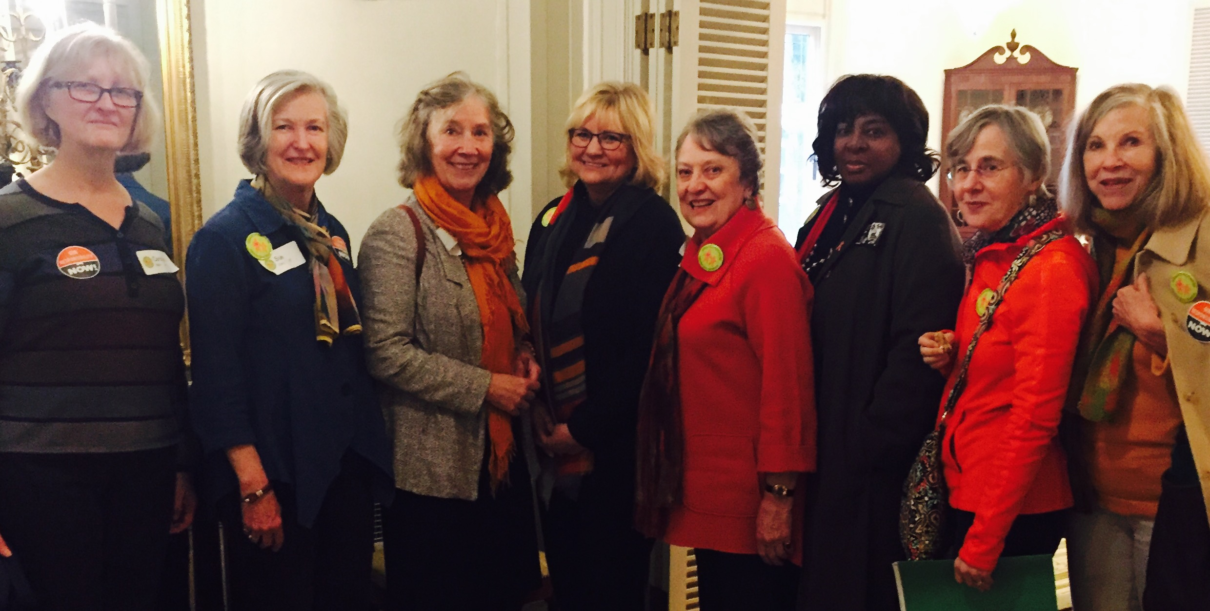 Grandmothers with GAGV member, First Lady Trudy Inslee