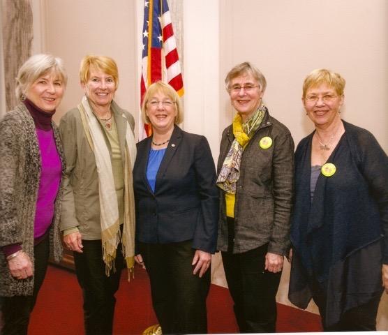 Grandmothers with U.S. Senator Patty Murray