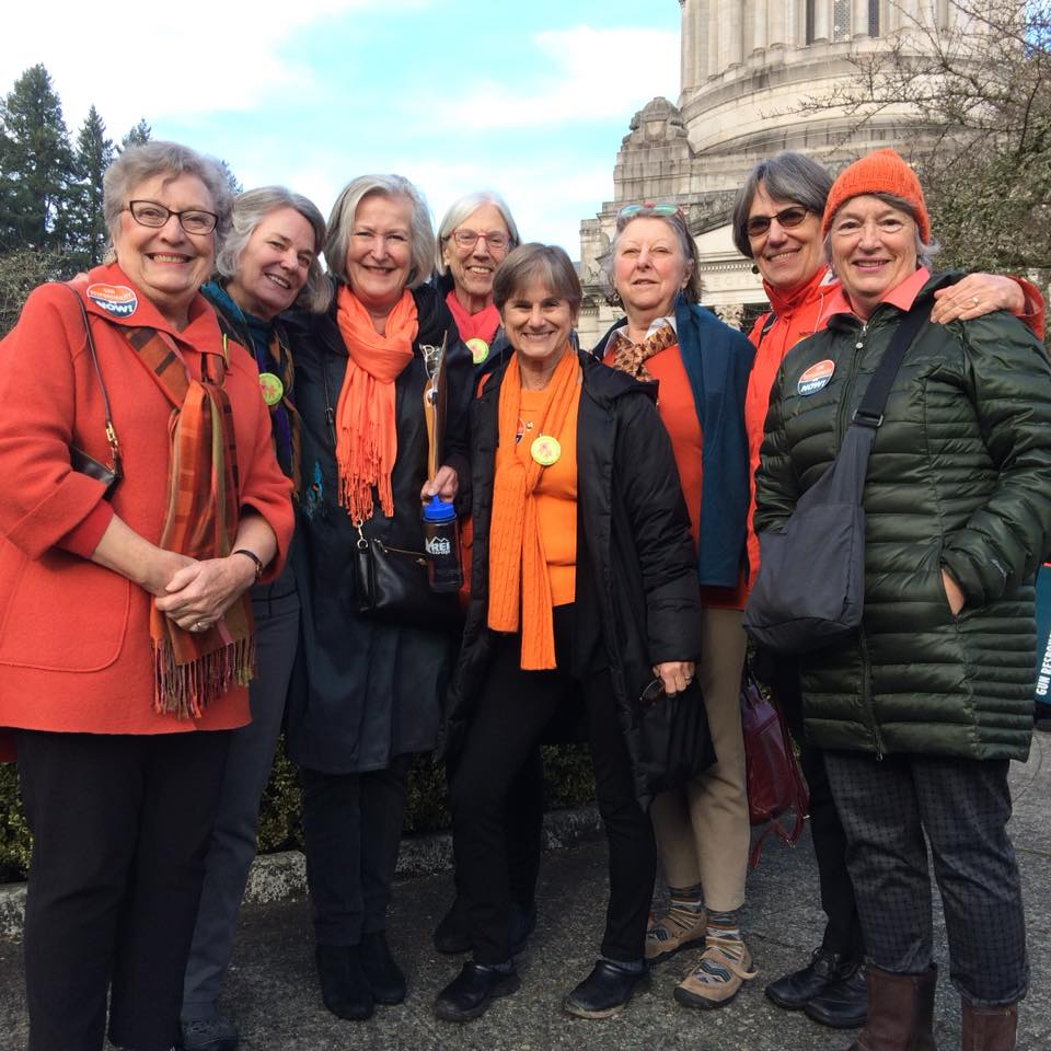 Grandmothers In Olympia for MLK Day