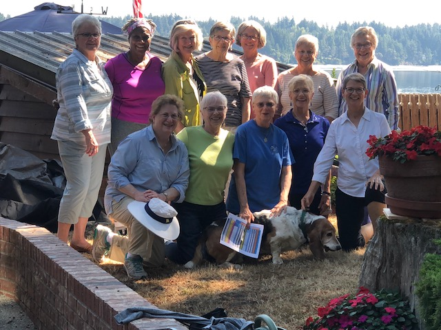 Members of the Grandmothers Legislative Affairs and Membership Committees retreat to plan a strong future on August 28, 2018!
