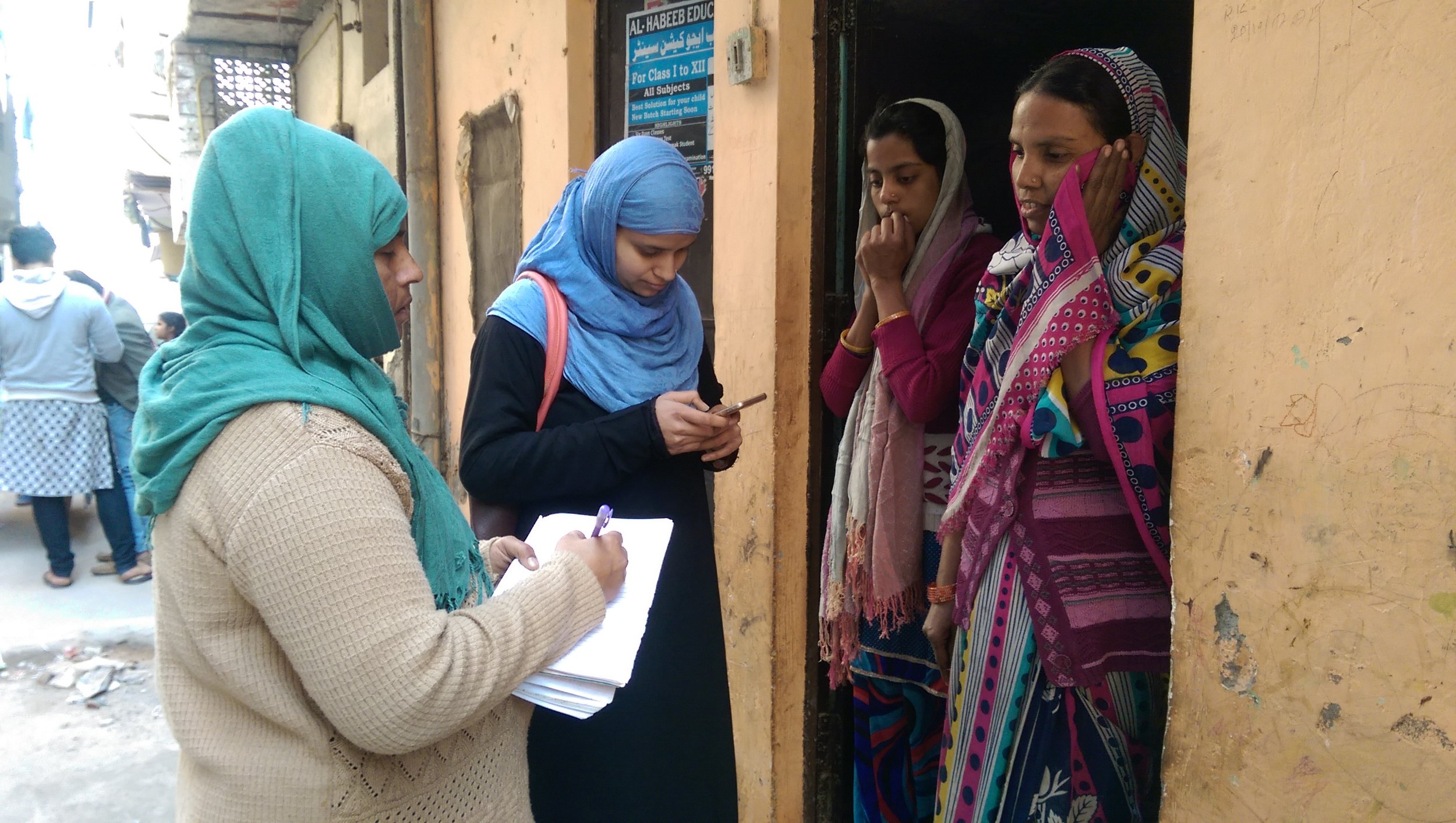 Shadowing Community Health Workers (ASHAs)