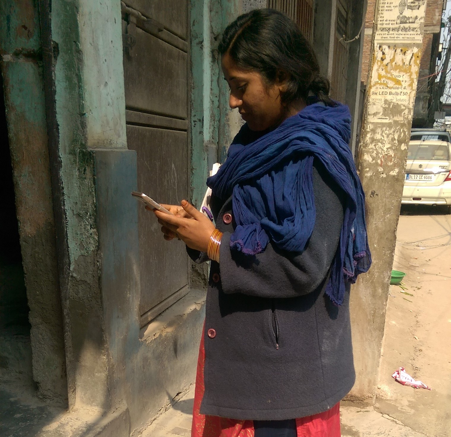 Data collection by ASHAs using ODK Collect