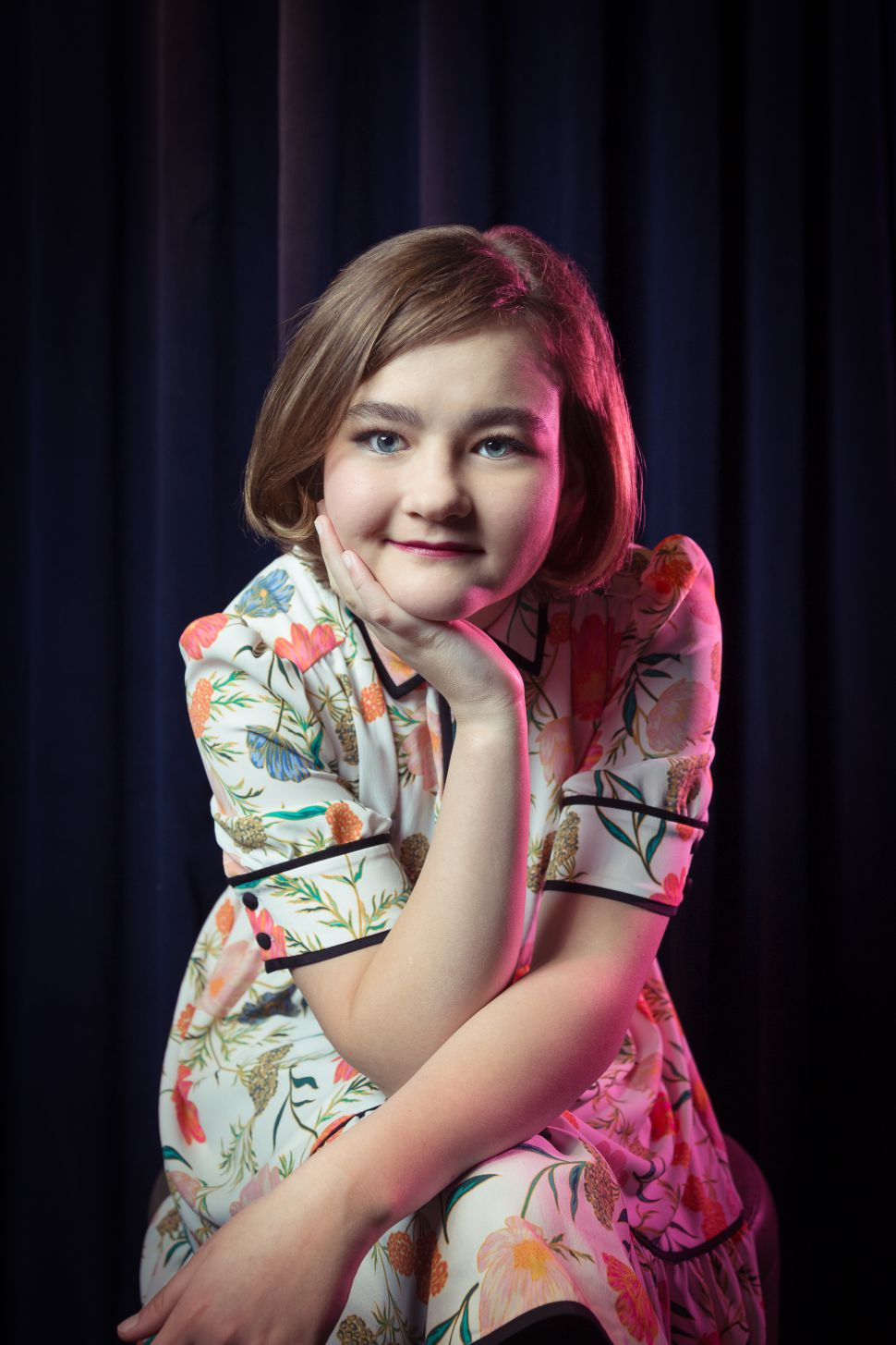 Millicent Simmonds. Kaitlyn Flannagan for Observer; Shot on Location at The Seville, by LDV Hospitality