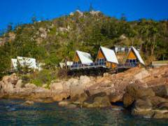 View from the beach beside Base Magnetic Island