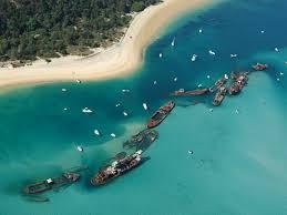 Shipwrecks Moreton Island