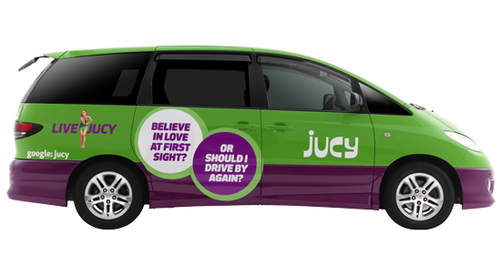 Jucy Rentals - Fancy renting a car or camper Jucy style? Completely reliable, with tons of options and drop off locations, once you get over the bright green colour you'll be delighted with your Jucy car (Plus you'll never lose it in a carpark). They offer everything from hatchback car rentals to proper motorhomes. Click through to get a quote, or request a comparison quote.