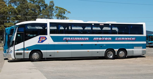 Isn't she a beauty? Premier Motor Service's Coach