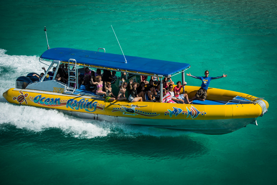 Ocean Rafting one day tour