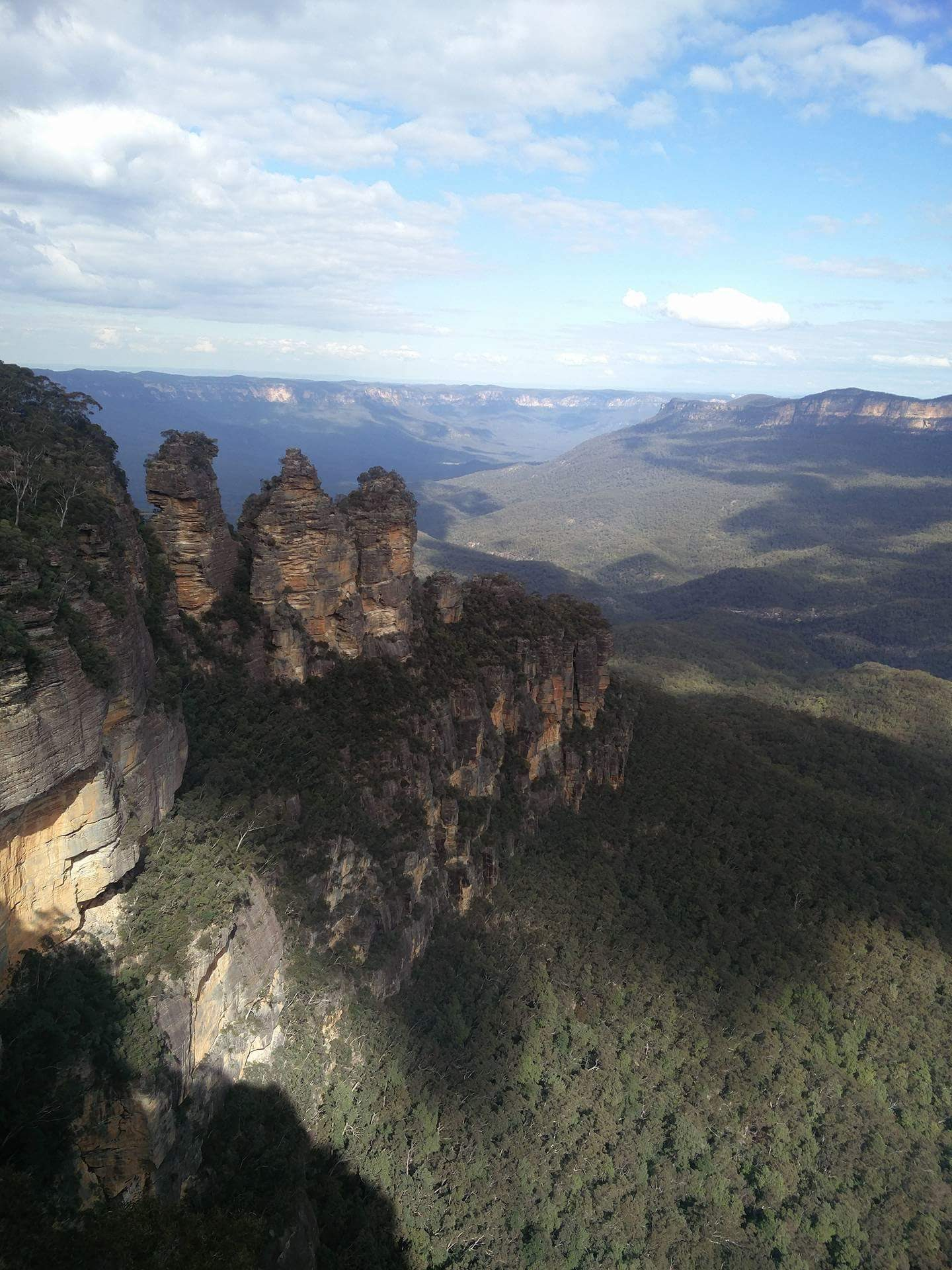 The Three Sisters of the Blue Mountains: Credit  Ollie Holder