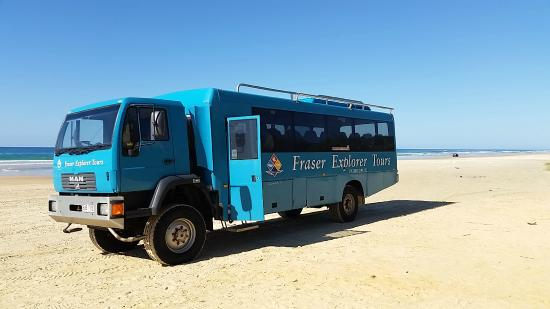 Fraser Explorer 4WD Bus