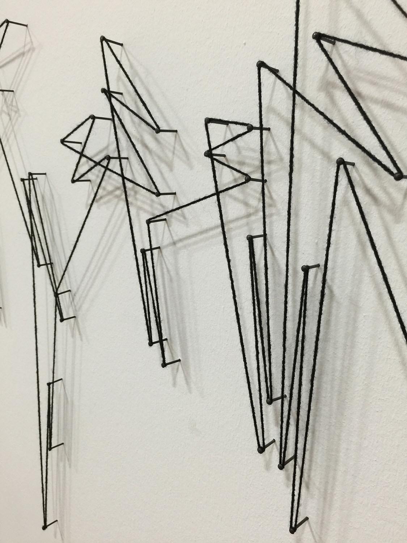 Vera Molnar installation at Centre Pompidou, Paris
