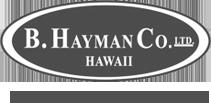 B. Hayman logo bw.png