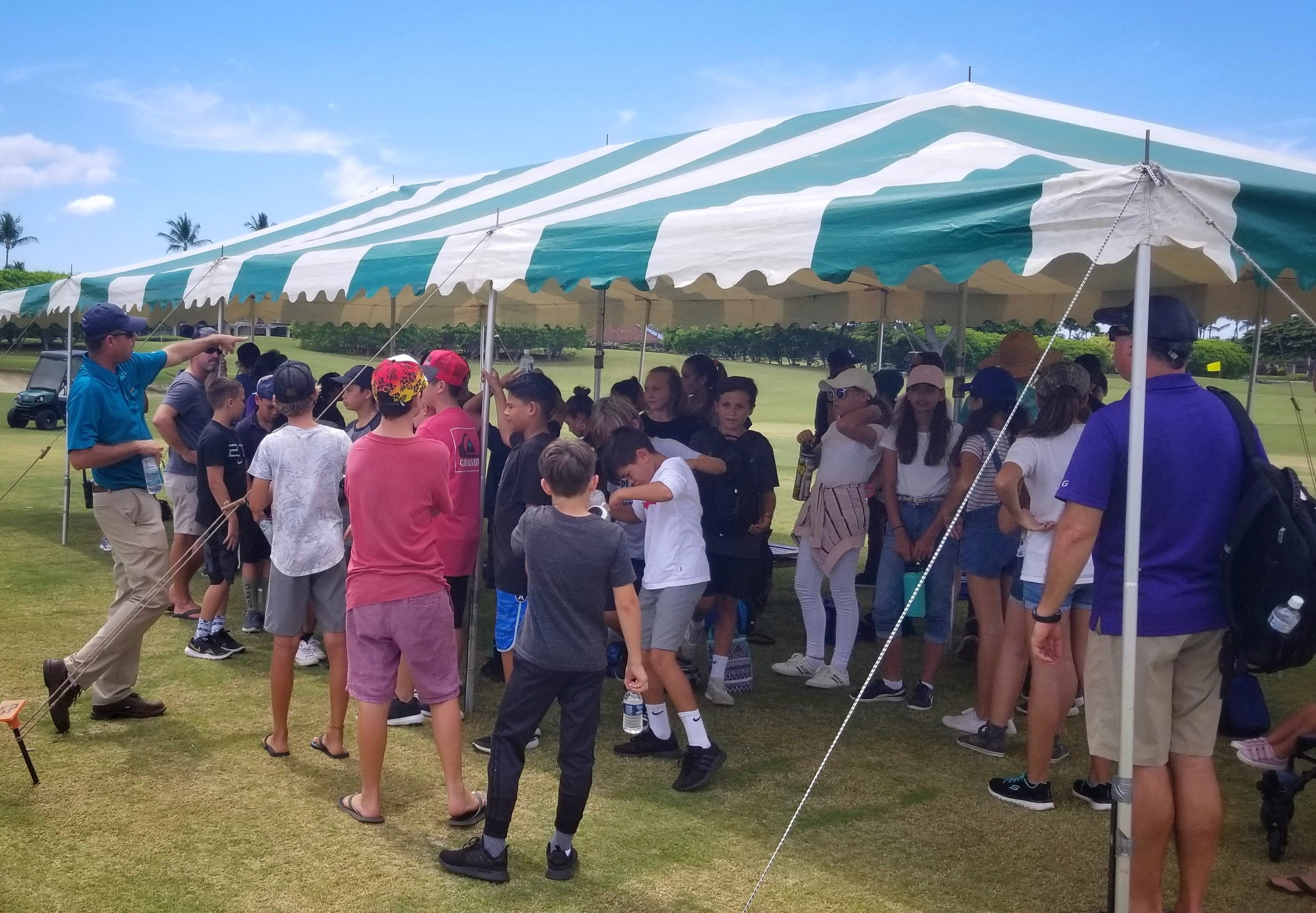 Hualalai Golf Course STEM event.jpg