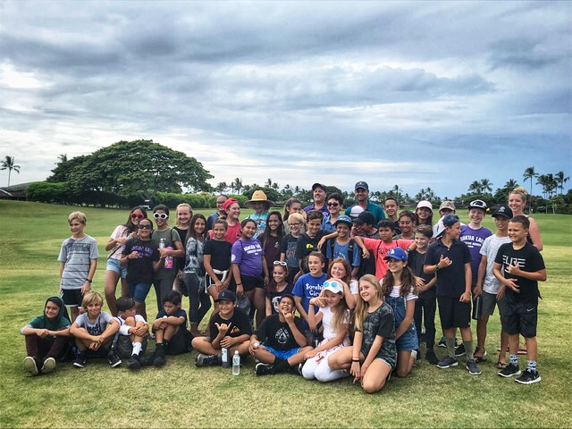 Hualalai Golf Course First Green Group.jpg