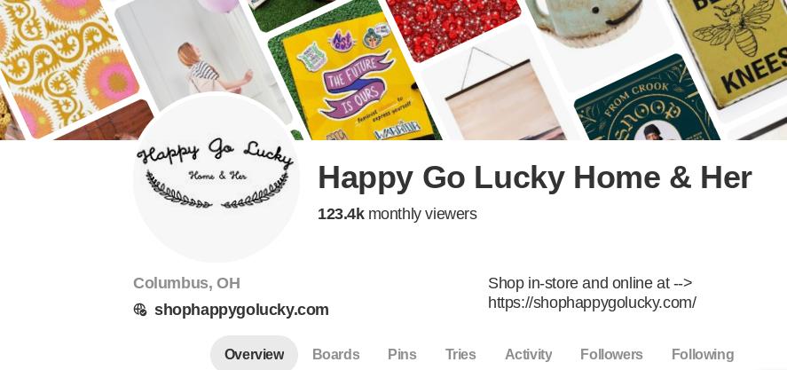 Daily Pinterest Management, 123.4k Pinterest Viewers.