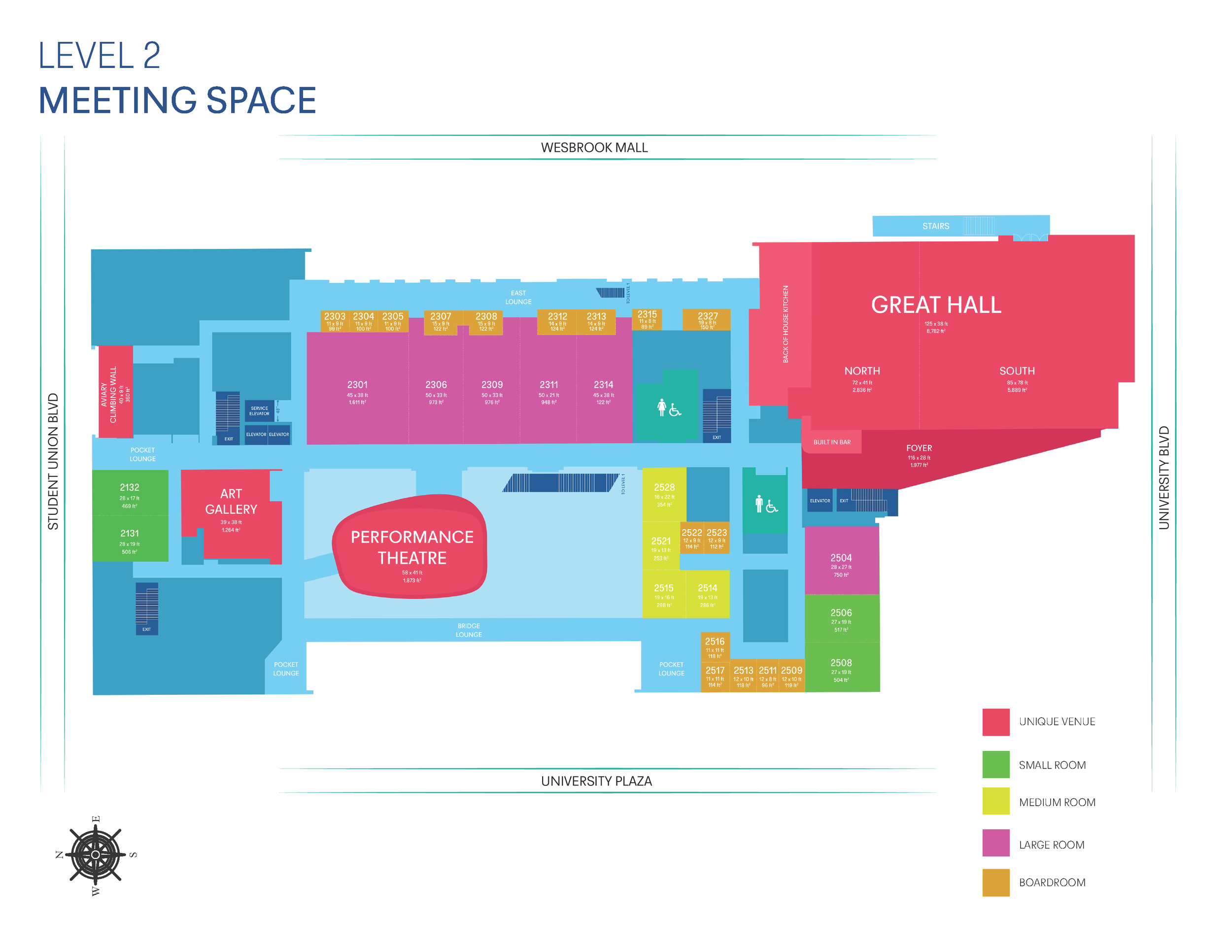 AMS 2nd Floor Layout