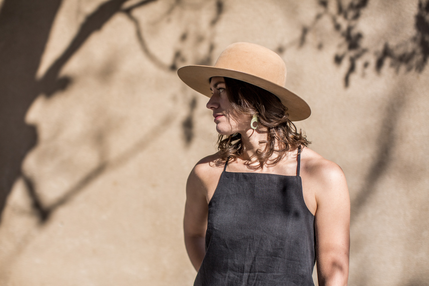 Sunny Camisole in onyx