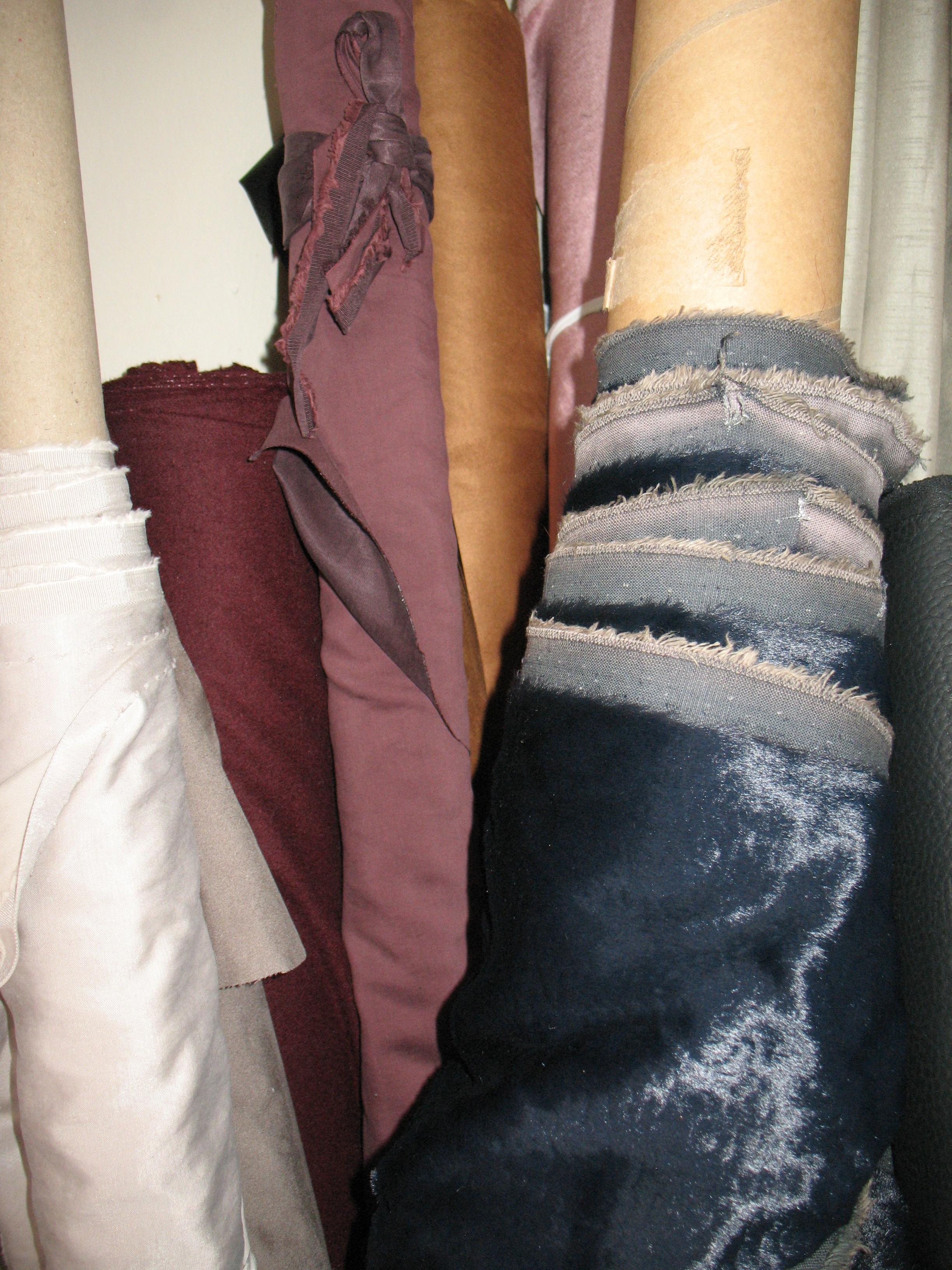 Industry surplus materials reduce fashion waste