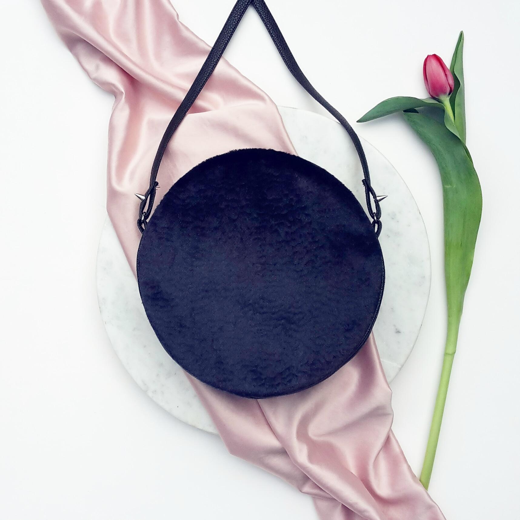 Shameless self promotion -  Chloe Bag in Ink Blue Velvet