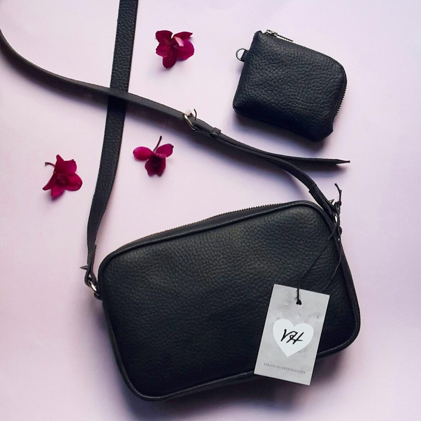 Velvet Heartbeat Vegan Faux Leather Bags