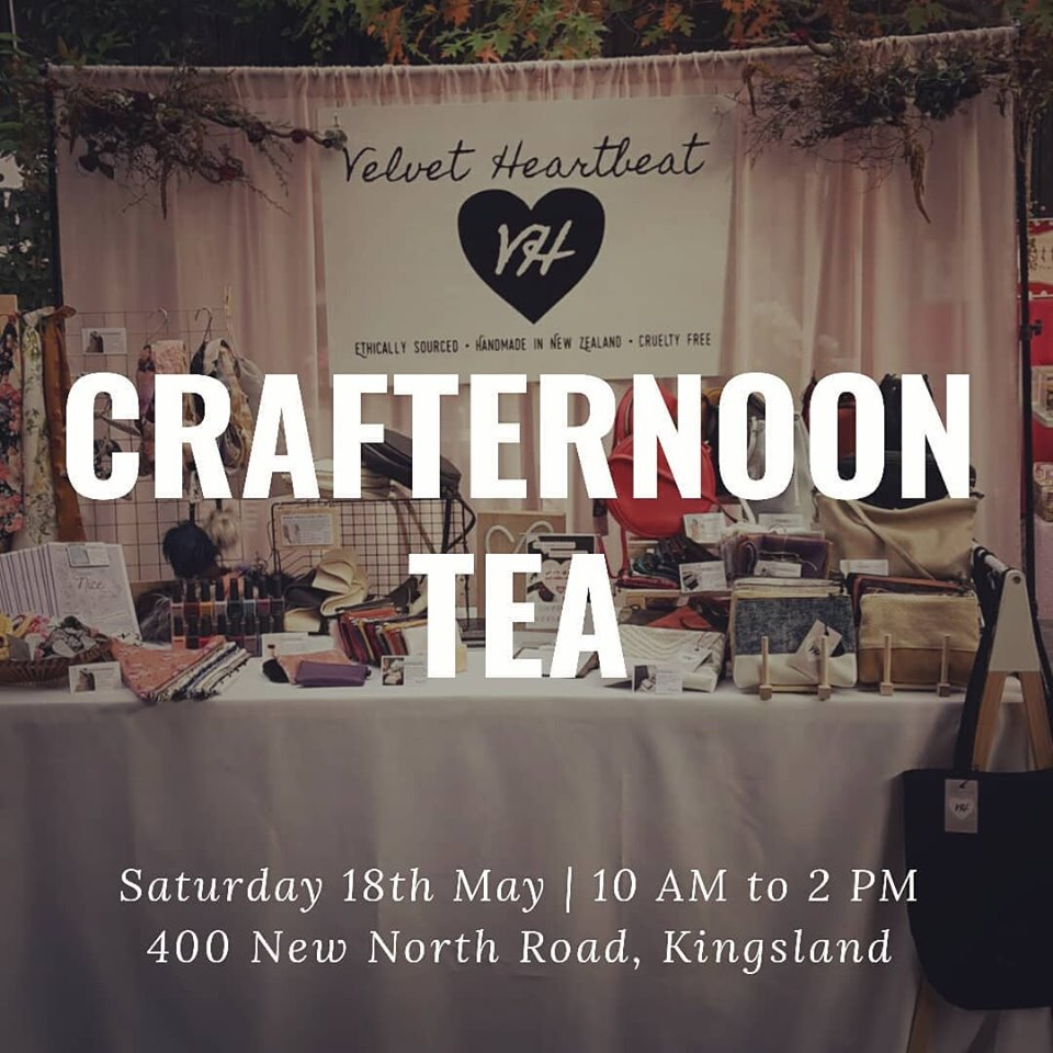 Velvet Heartbeat at Crafternoon Tea