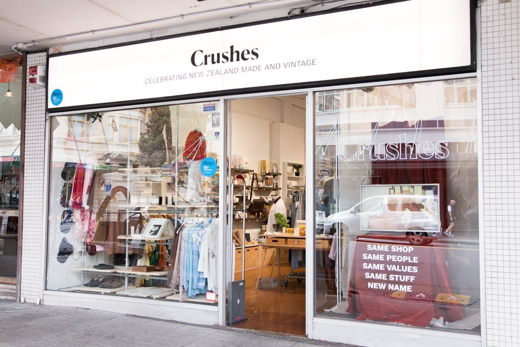 Crushes - AUCKLAND, NEW ZEALAND & ONLINECrushes is a carefully curated boutique that sells the best of NZ design alongside charming vintage clothing and tea. We love Sarah & Rose's commitment to preserving vintage fashion and supporting handmade and local so we just had to join the family! Check out a selected range of Velvet Heartbeat in store and online!225 Karangahape Road, Newton, Auckland CBDwww.crushes.co.nzInstagram @crushes_shop