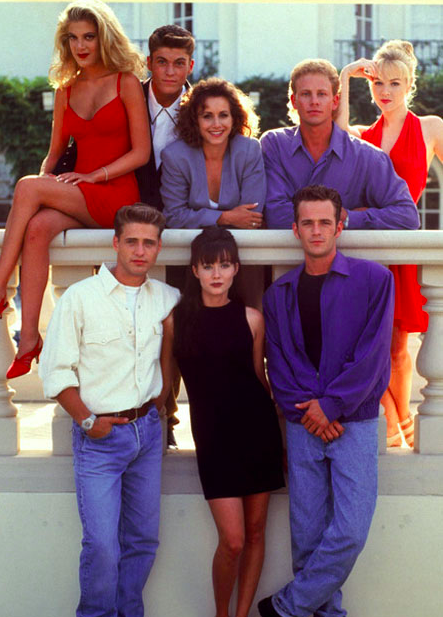 Honestly living for this promo still right now. Shannon Dougherty may have been a total betch back in the day, but that girl could serve a '90s Mod LOOK.