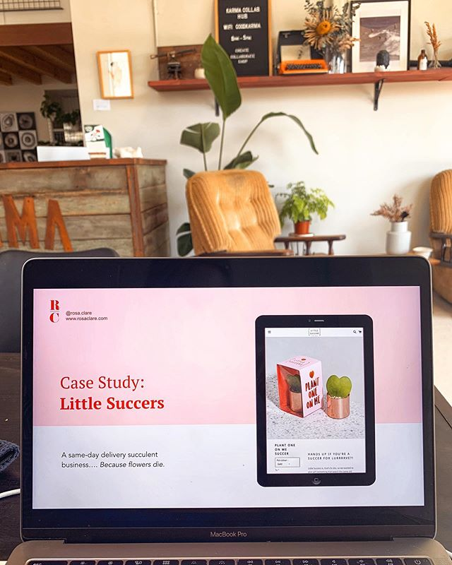 Only a few spaces left for my webinar with @littlesuccers  next week! 🌵 👉 meet the founder (and hear her story) 👉 watch as I develop a marketing strategy for her in REAL time (using her data) 👉 discover the strategies that I use to double startups growth  Link in bio! ✍️ note that due to the fact that I will be openly showing and discussing @littlesuccers stats and strategy, this webinar will not be recorded.  #webinar #startups #ladystartups #entrepreneur #digitalmarketing #growth