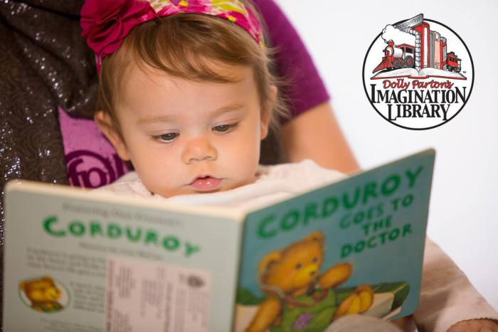 Dolly Parton's Imagination Library - Help get more books into the hearts and minds of more children across Hampton Roads.