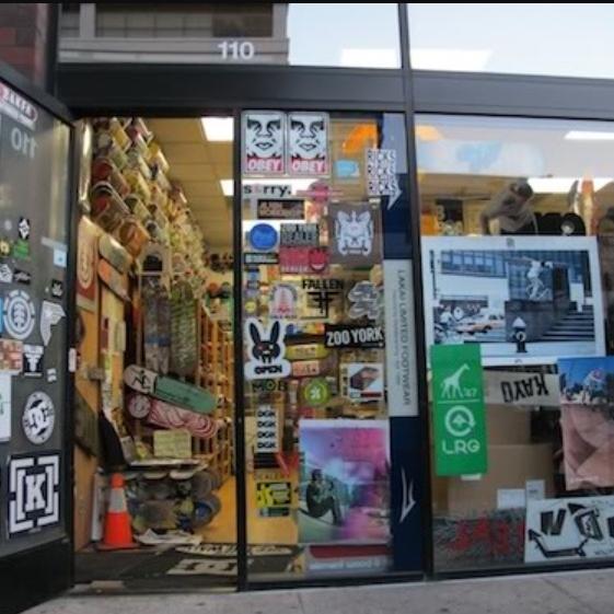 Nonfactory Skate Shop - 110 S San Pedro St. Los Angeles, CA 90012