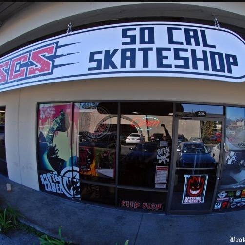 SoCal Skate Shop - 24002 Via Fabricante Ste. 404 Mission Viejo, CA 92691socalskateshop.com