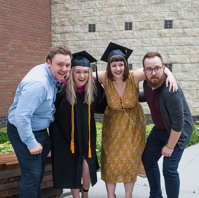 We did a thing! 🎓 MacEwan University, class of 2019.