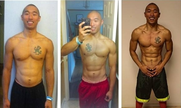 Back when I had no hair lol. This was an 8 week transformation I created for myself. I went from 158 to 164lbs but dropped from 11% to 7% body fat. Results may vary, but change can happen for you too. And this is when I barely knew anything about nutrition.