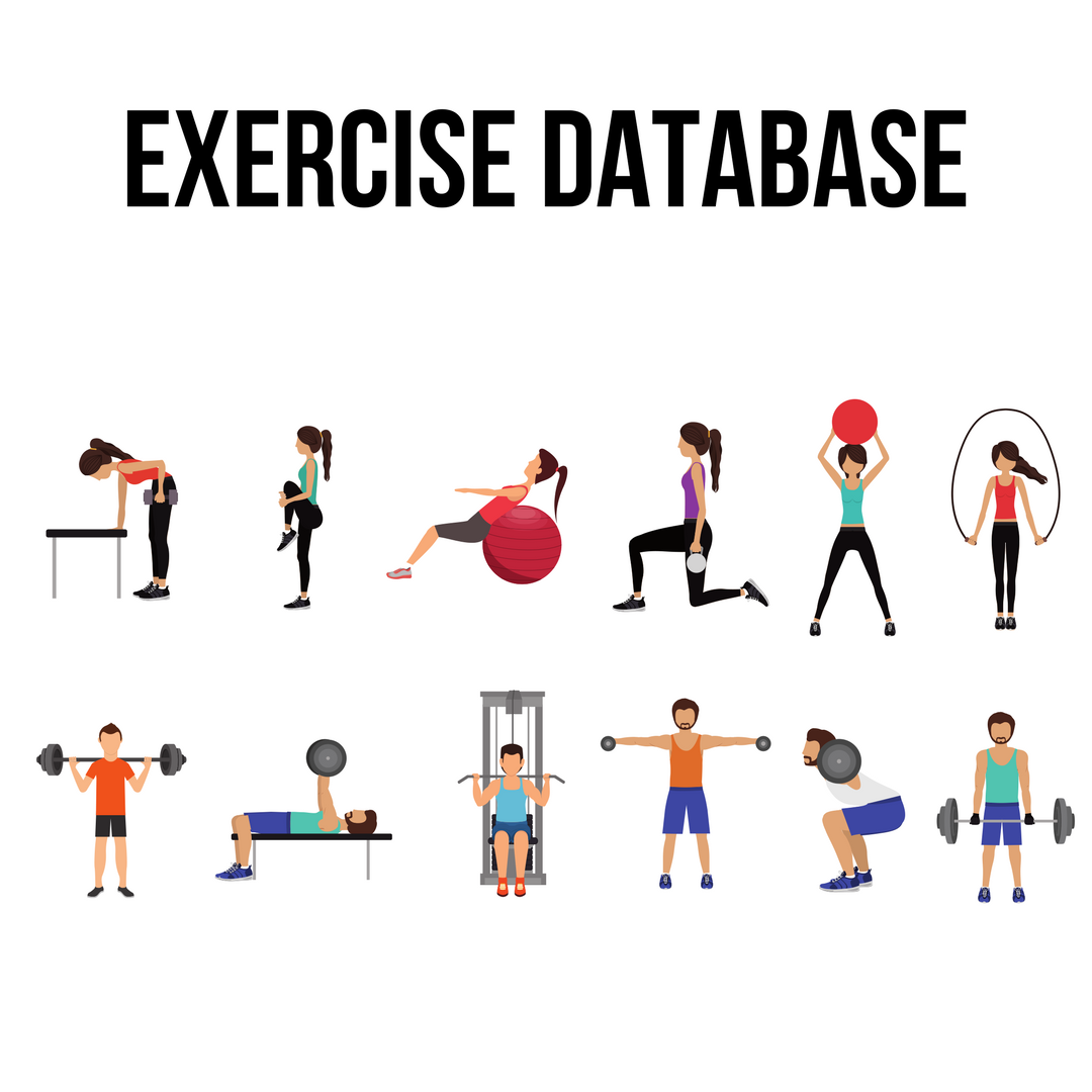 Don't worry about not knowing what an exercise is, this extensive list should cover that. If you need any additional help just drop a message in the FC Facebook page