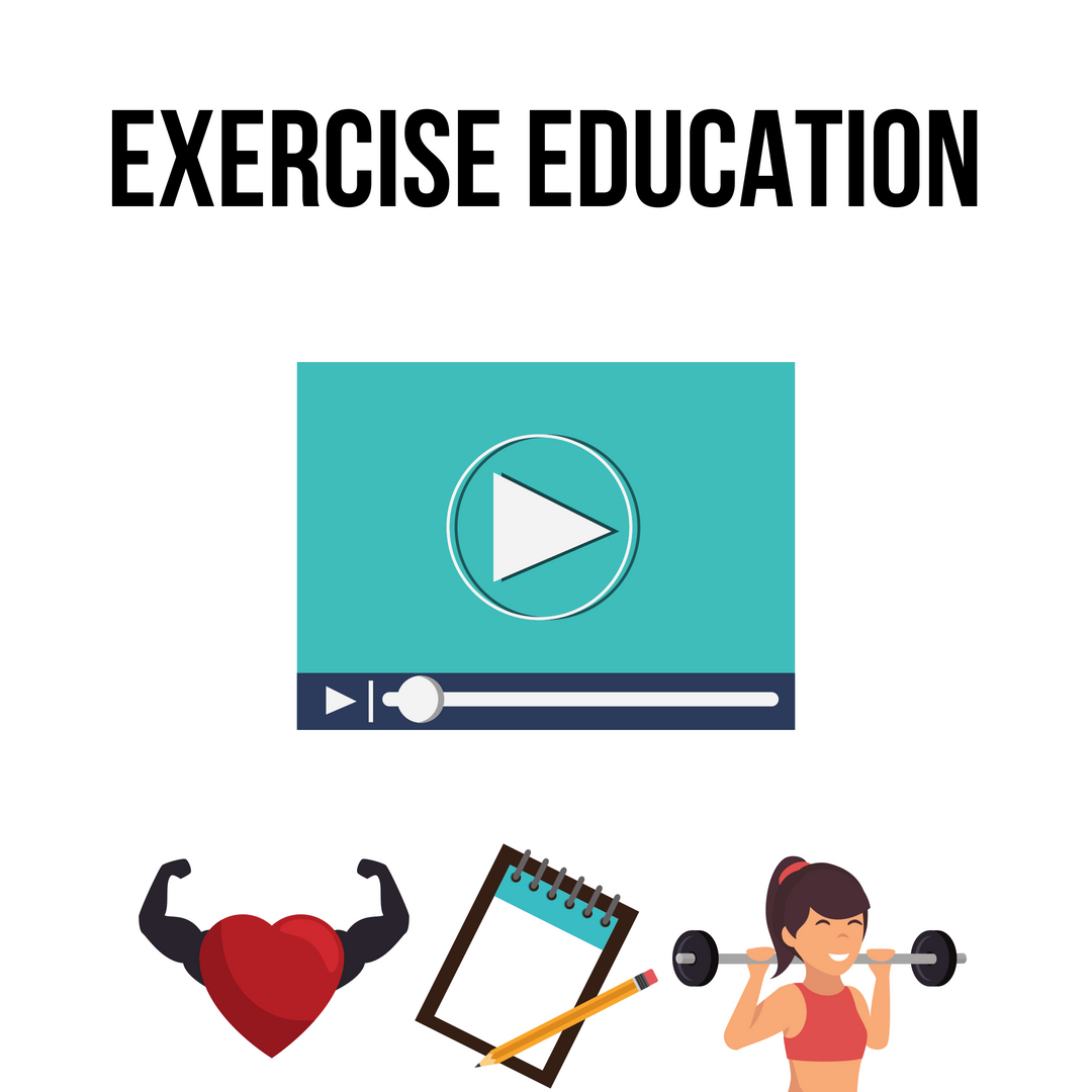 As your coach, even though I'm not physically with you, I want to be able to educate you more in depth that a simple post can't do. Use these videos to better understand more in depth aspects about exercise and nutrition.