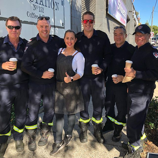 We love the 🔥 rescue team  @frnswmedia come to @substationcafe for their daily coffee ❤️❤️