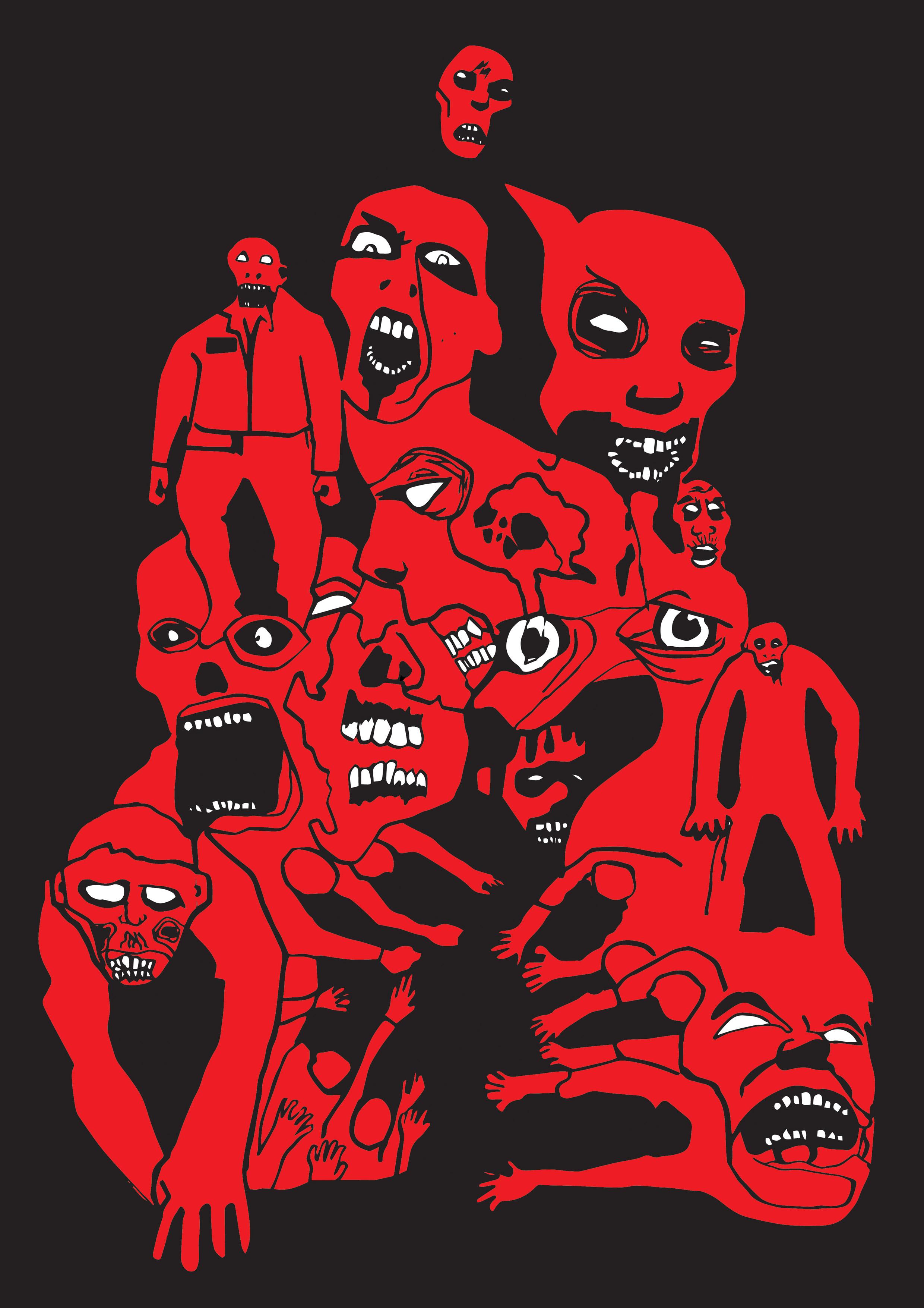 Zombie pyramid vector colour1.jpg