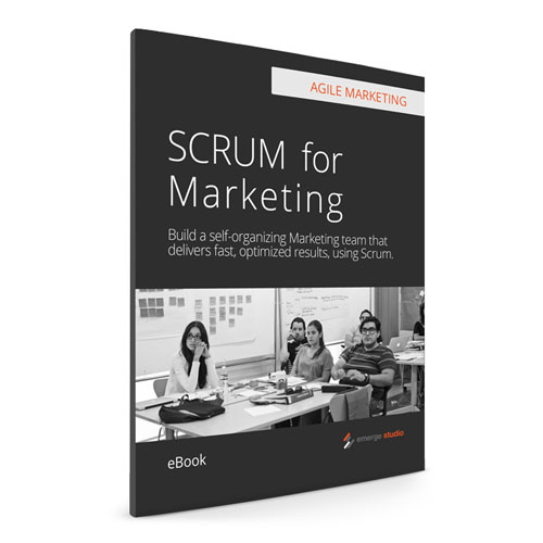Download the eBook  - Agile Marketing: SCRUM for Marketing.