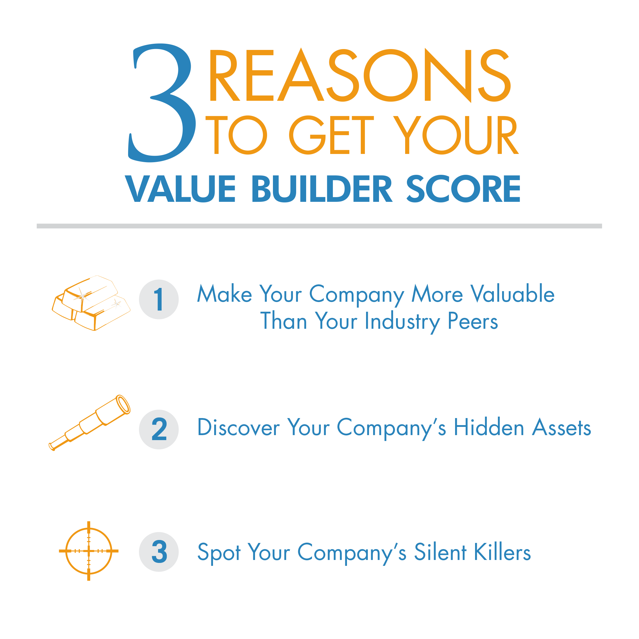 3 Reasons to get your value builder score