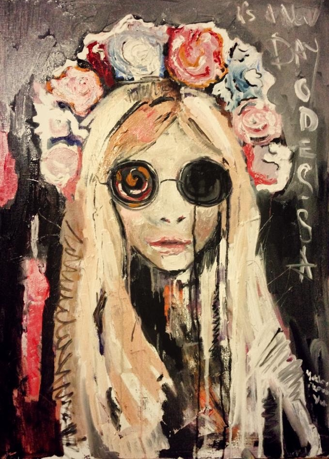 yulechka / canvas, oil / 70x50cm / 2014