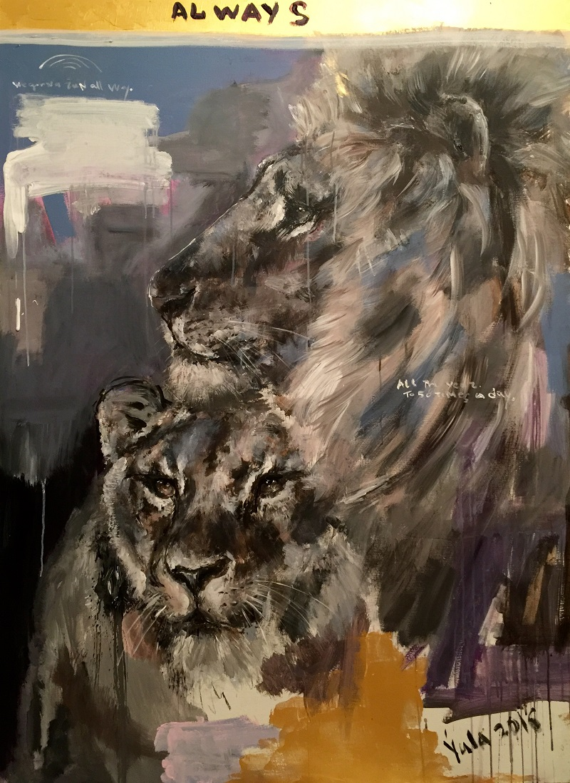 always / canvas, acrylic / 150x110cm / 2016